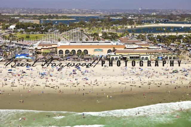 Pacific Beach Scenic Image