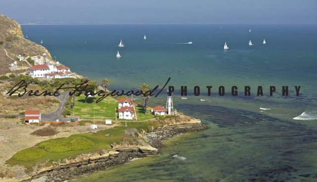 Point Loma Lighthouse Aerial Image