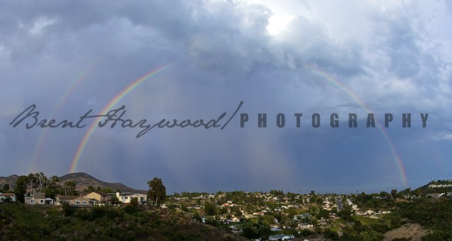 Cowles Mountain Rainbow San Diego