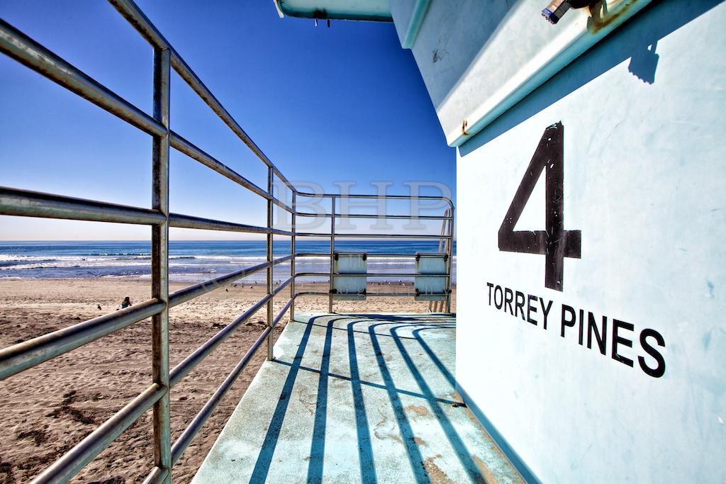 Torrey Pines Beach Stock Photo