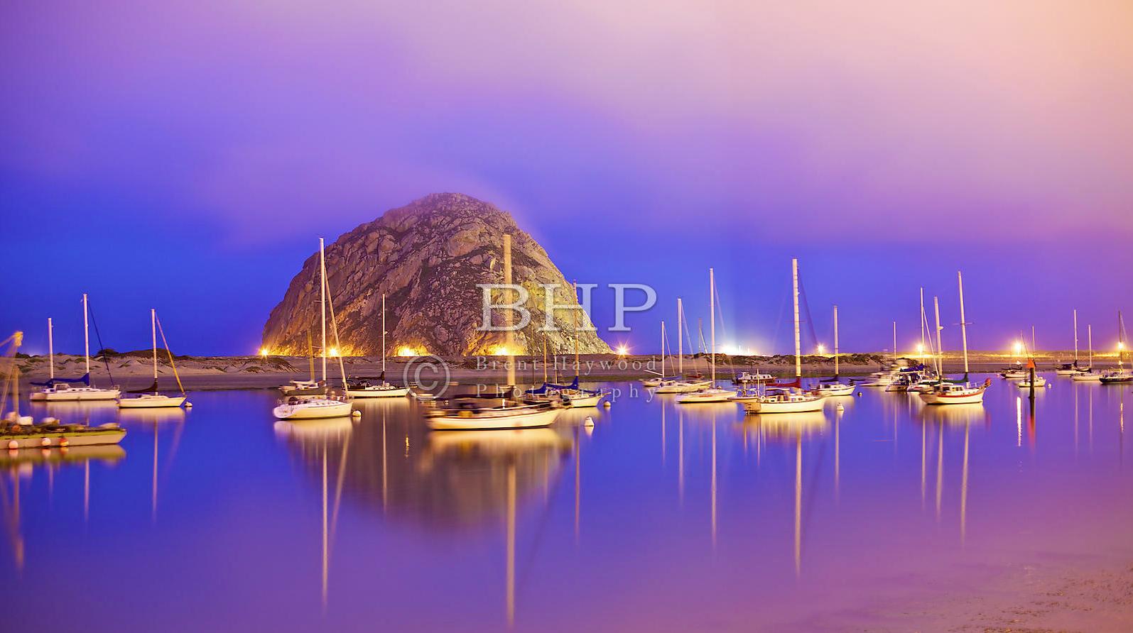 Morro Bay Rock Photo