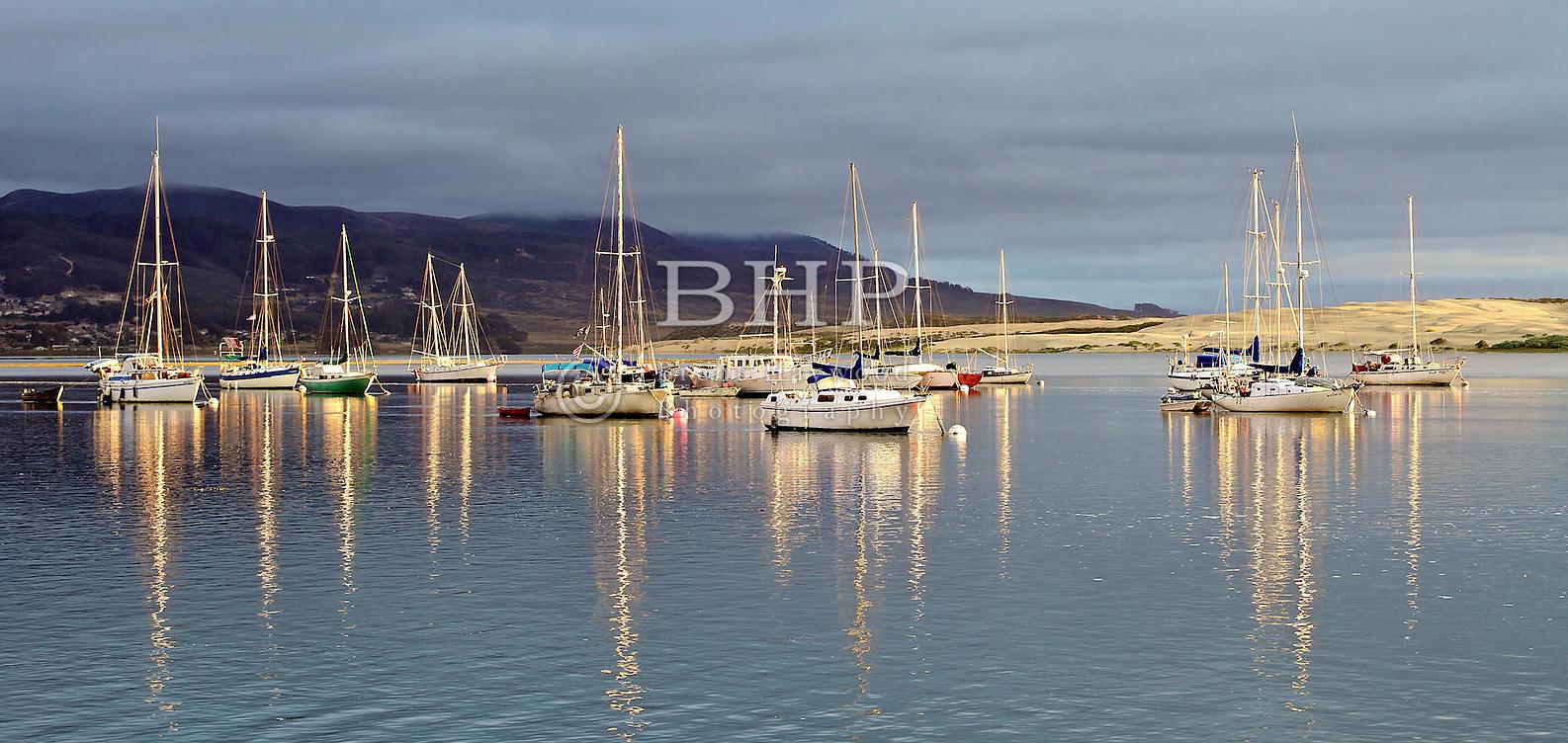 Morro Bay Sail Boat Photo