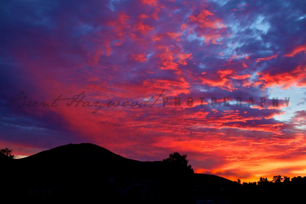 San Diego Sunrise Cowles Mountain
